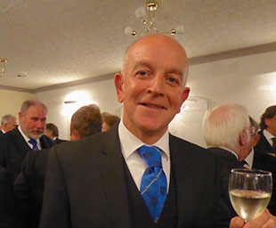 Graham takes the chair of Derby Lodge