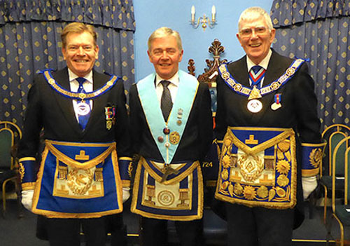 Pictured from left to right, are: Kevin Poynton, Stephen White and Tony Harrison.