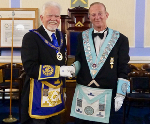 A great day at St John's Lodge installation