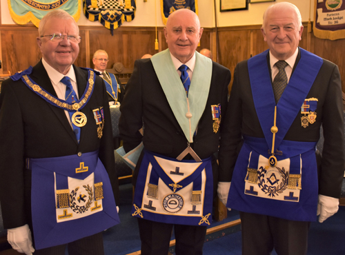Pictured from left to right, are; Keith Kemp, Frank Pearson and Norman Thompson.