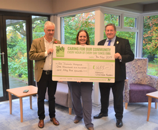 MCF grant to St John's Hospice