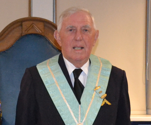 A salute to 60 years of Freemasonry for Maurice