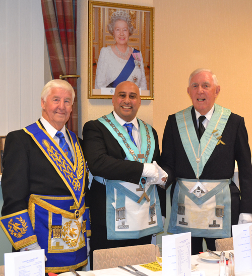 Pictured from right to left, are: Jim Wilson, Matt Kneale and Maurice Townley.