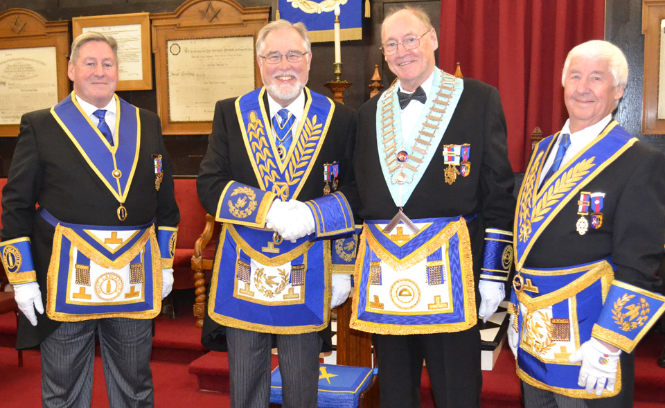 Pictured from left to right, are: Neil McGill, Phil Gardner, John Bates and Jim Wilson.