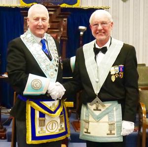 David Platt WM (left) and Danny Whalley IPM
