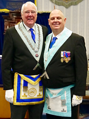 John Whitley (left) and Mark Spragg