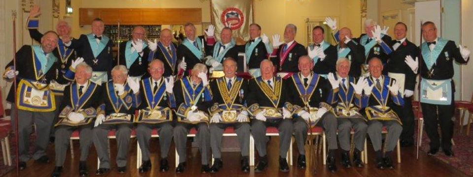 Pictured are members of Peace and Unity Lodge.