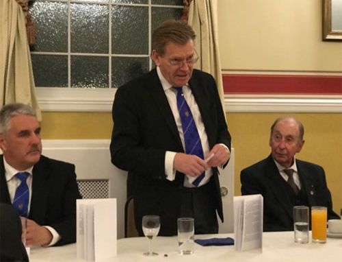 Pictured from left to right, are: Andy Barton, Kevin Poynton and Bob Bingham