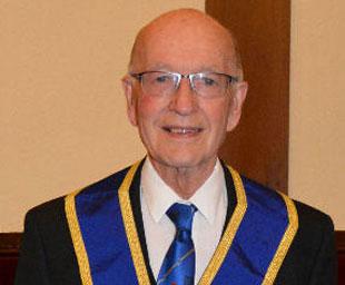 Derek's 50 years in Freemasonry