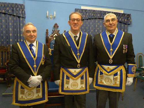 Pictured from left to right, are: Roberts James, Anthony Standish and Fred Hulse.