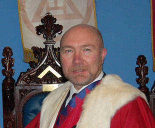 Colin is first principal of Walton Chapter