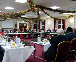 Christmas arrives early at Biscopham Lodge