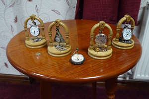 A selection of Masonic pocket watches