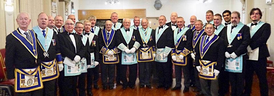 Members of Brotherhood Lodge.