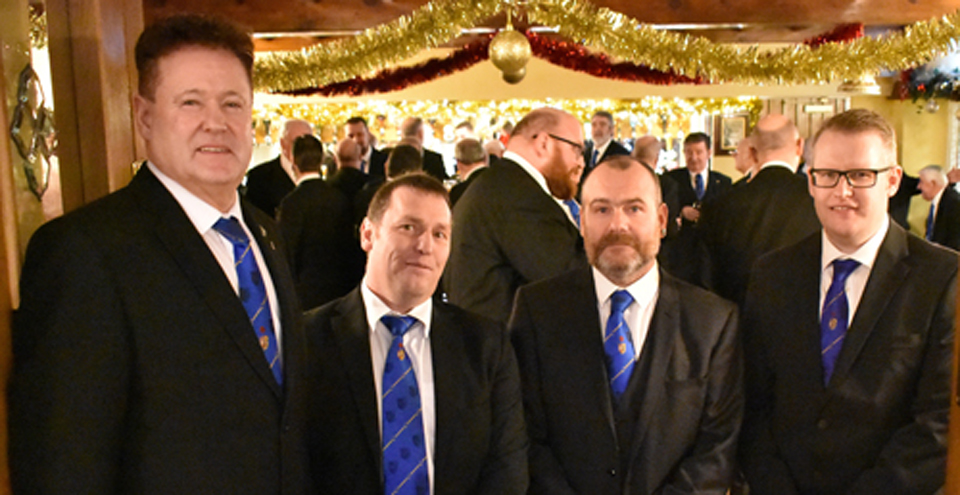 Pictured from left to right, are: Peter Schofield, Chris Angell, Andrew Brew and Gary Grieve.