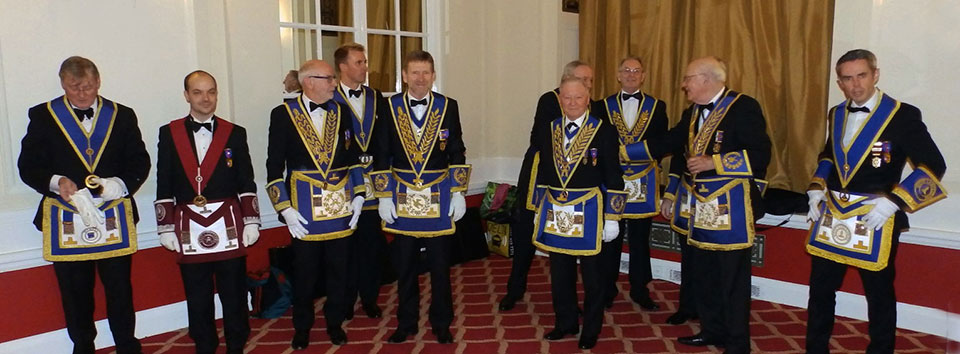 A selection of the many senior members and guests.