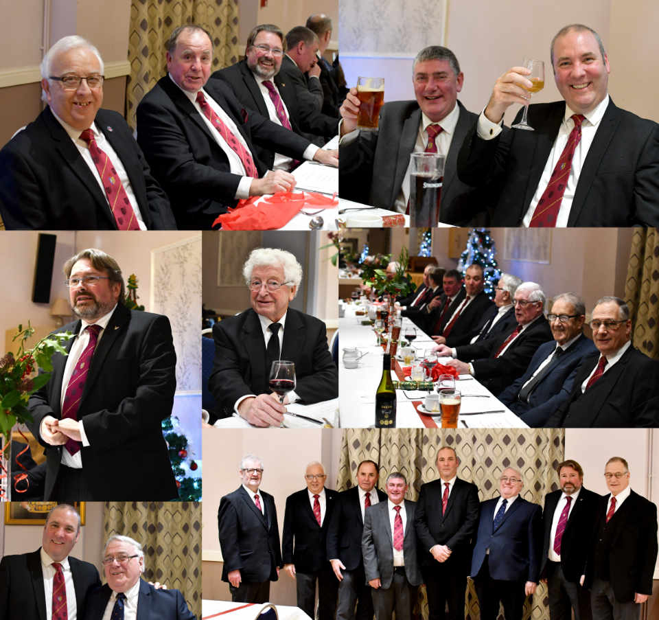 Highlights from the festive board.