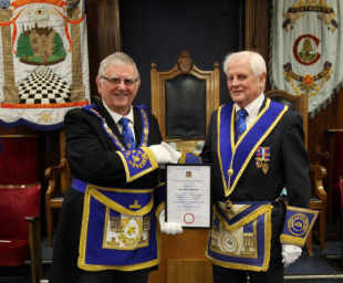 Ribbleton recognise David's 50 years' service