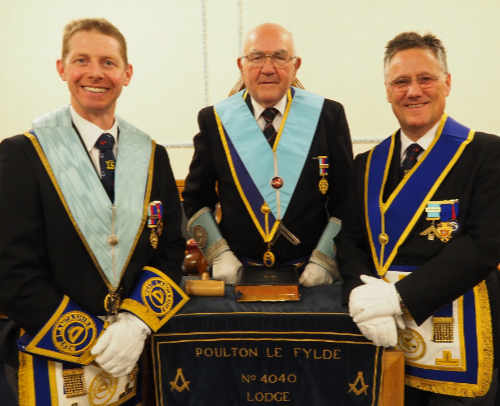 Pictured from left to right, are: Martin Dennison, Ray Boardman and Simon Gartside.