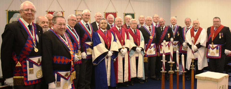 Members of Corinthian Chapter.