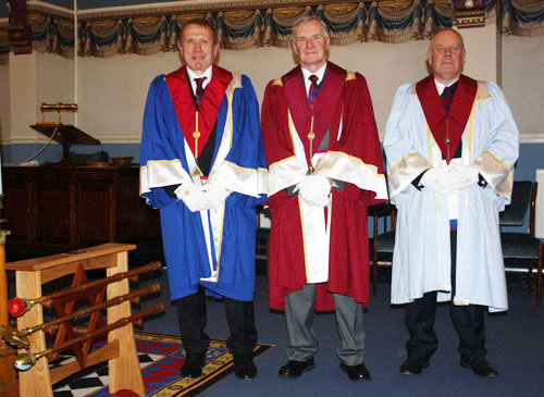 he three principals. Pictured from left to right are: David Brogan, Bill Petterson and Andrew Dobie.