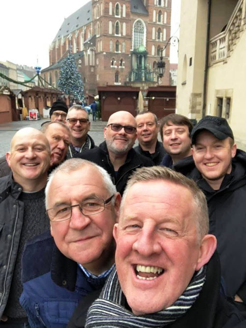 WM John Tabern and some of his officers exploring Krakow.