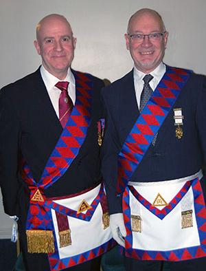 Stephen Williams (left) and Robert McParland.