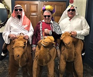 Tyldesley Lodge get the Christmas hump!