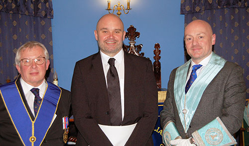 Pictured from left to right, are: Mike Cunliffe, Paul Massey and Stephen Baker.