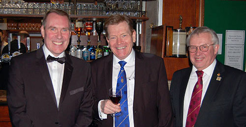 Pictured from left to right, are: Phillip Summers, Kevin Poynton and Mike Cunliffe.