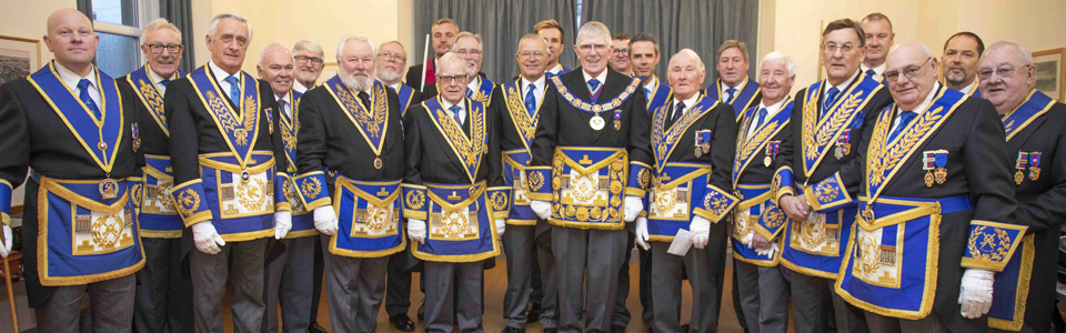 A 'grand' gathering of officers