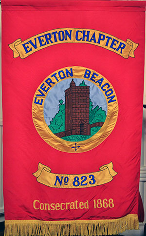 The Everton Banner.