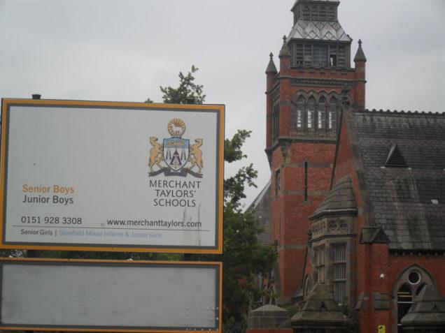 Merchant Taylors School.