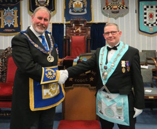 Geoff takes charge at Anchorsholme Lodge