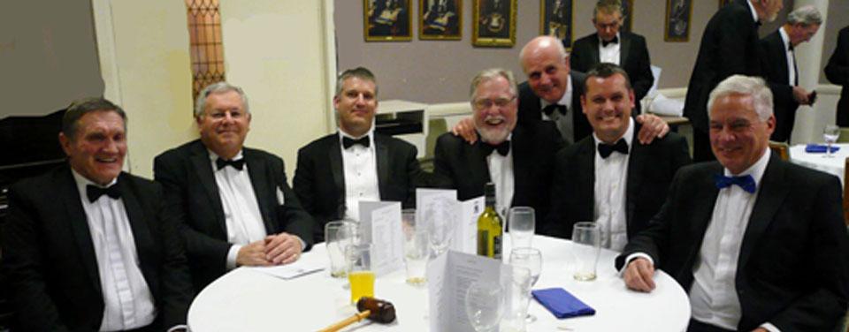 Pictured, from left to right, are: Jim Hamilton, John Stanley, Chris Larder, Philip Gardner, David Winder, John Lee and Simon Hanson.