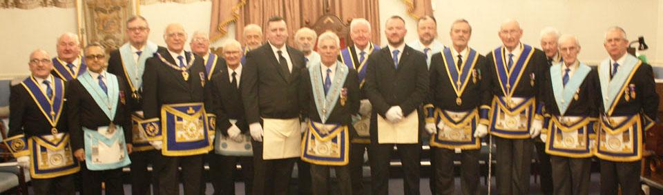 The members of Hope Lodge.