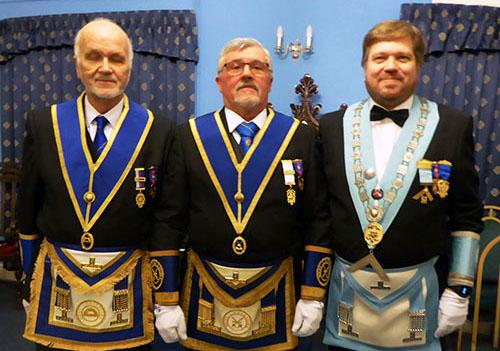 Pictured from left to right, are: David Moore, Norman Pollock and Chris Taplin.