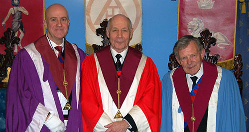Pictured from left to right, are; Steven Williams, Albert Hogg and David Colling.