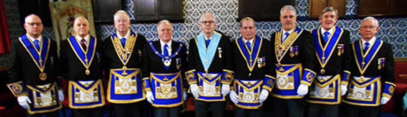 Pictured from left to right, are; Graham Lewtas, David Atkinson, John Murphy, Derek Parkinson, Colin Clark, David Jones, Andrew Barton, John Tyrer and John McIntyre.