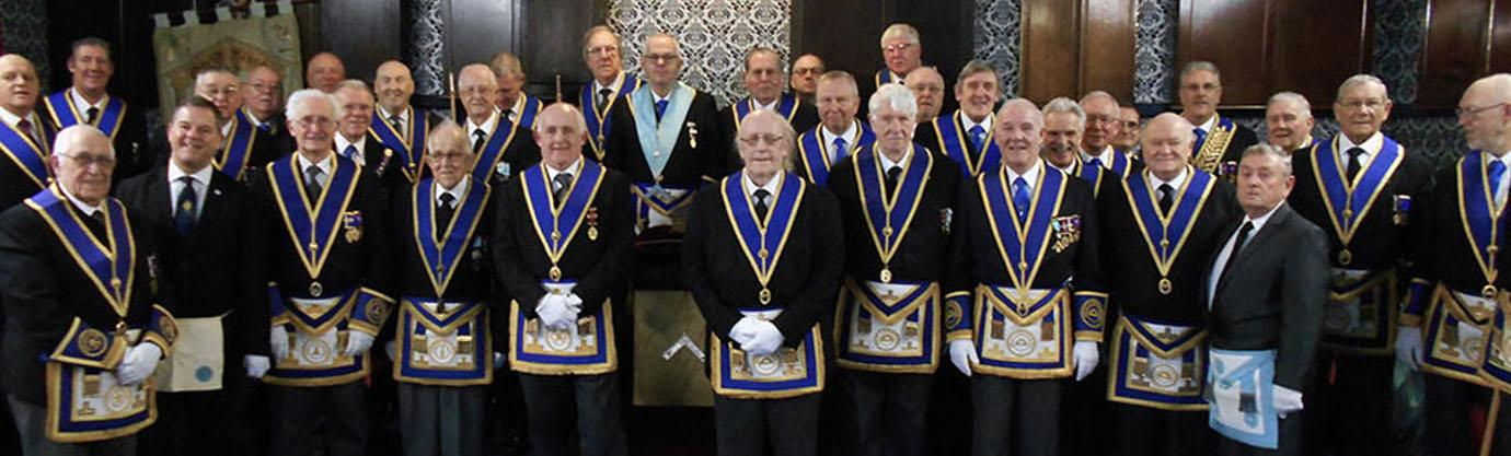 St David's Lodge members and their guests.