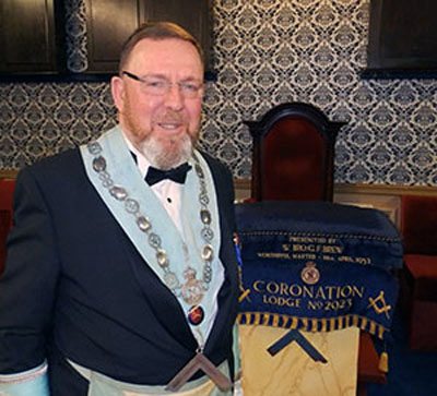 The newly-installed WM Roger Philips.