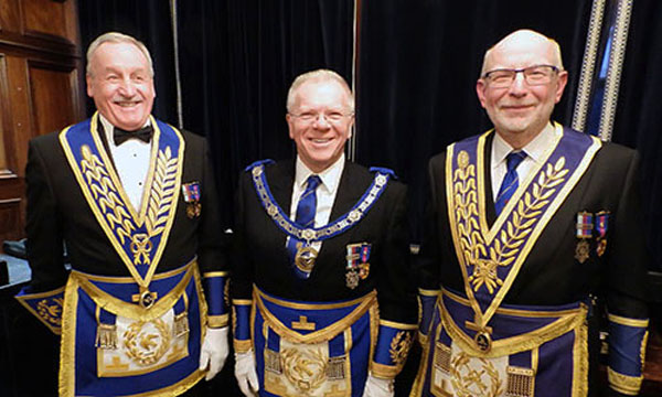 Pictured form left to right, are: Sam Robinson, Derek Parkinson and John James.
