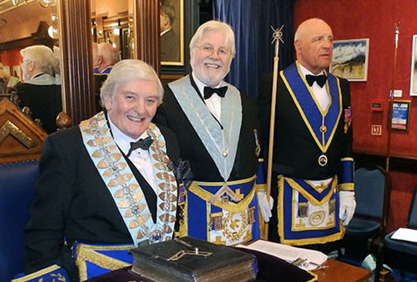 Pictured form left to right, are: Ernie Waites, David Hawkes and Steve Kayne.