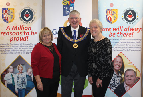 Pictured from left to right, are: Linda McCann, Tony Harrison and Laurel Devey.