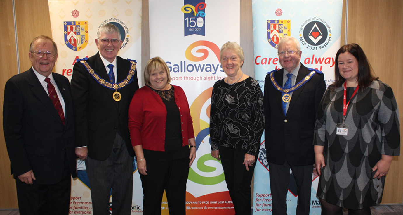 Pictured from left to right, are: Colin Rowling, Tony Harrison, Linda McCann, Laurel Devey, Keith Kemp and Nicola Hanna.