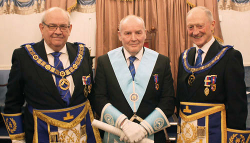 Pictured from left to right, are: Phil Gunning, Jim Seddon and Barry Jameson.