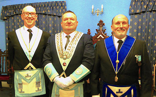 Pictured from left to right, are; David Keay, Andrew Jones and David Pickett.