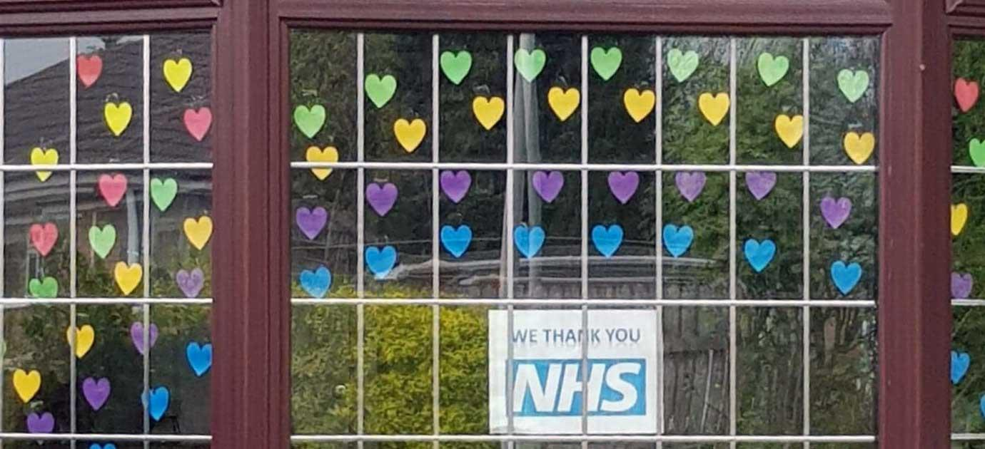 Best window in support of the NHS.