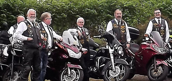 Bikers' Chapter at Bryn.