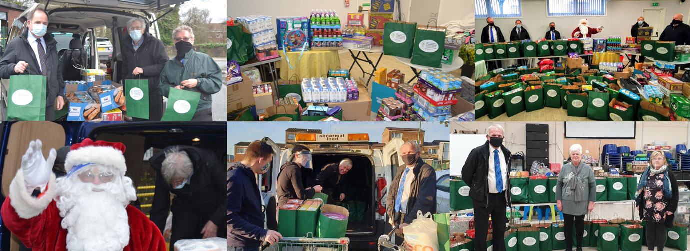 Highlights of the presentation at the Digmoor Community Foodbank.